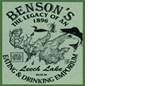 benson's eating & drinking emporium dining walker mn