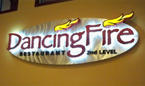 dancing fire restaurant dining walker mn