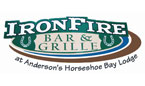 iron fire bar and grill dining walker mn